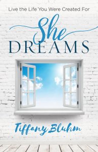 She Dreams Book by Tiffany Bluhm