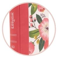 #3- The NKJV, Woman's Study Bible, Cloth over Board, Pink Floral, Red Letter, Full-Color Edition: Receiving God's Truth for Balance, Hope, and Transformation