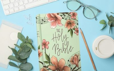 10 Floral Bibles for Bible Study or Journaling